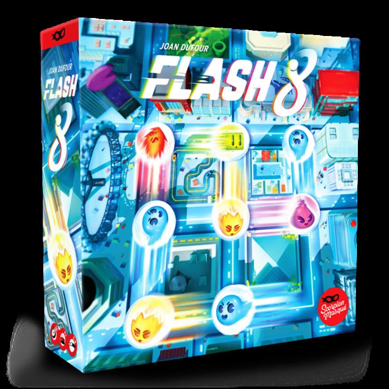 Flash 8 jeu de société