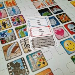 Concept jeu de société Exemple de jeu