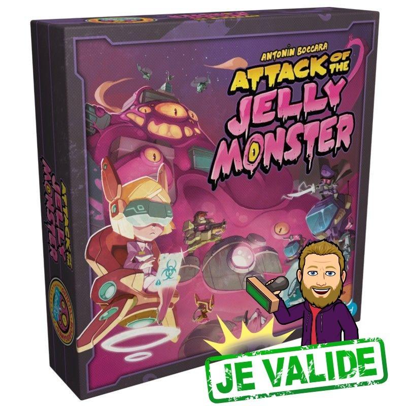 Attack of the jelly monster - boite - arkenstone