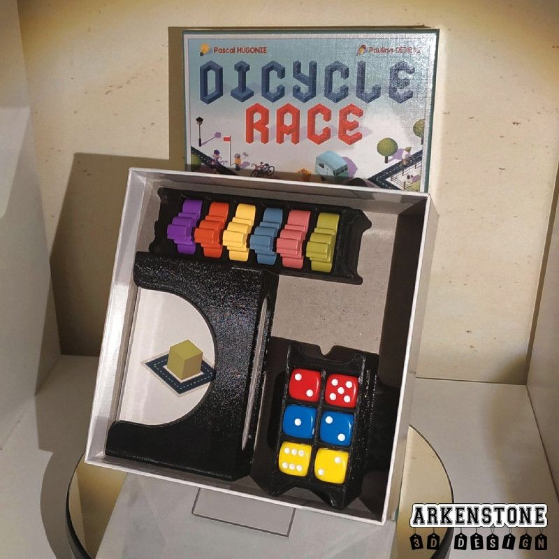 Dicycle Race rangements 3D boite