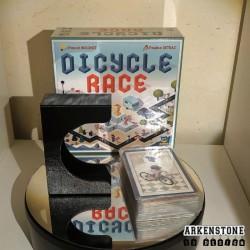 Dicycle Race rangements 3D cartes
