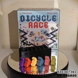 Dicycle Race rangements 3D pions cycliste