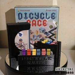 Dicycle Race rangements 3D ensemble des boites