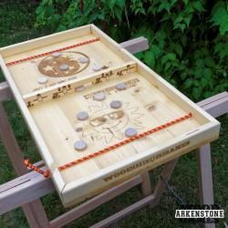 Location jeu en bois SpeedWood Passe trappe palets