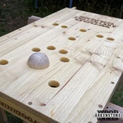 Location jeu en bois Toupies