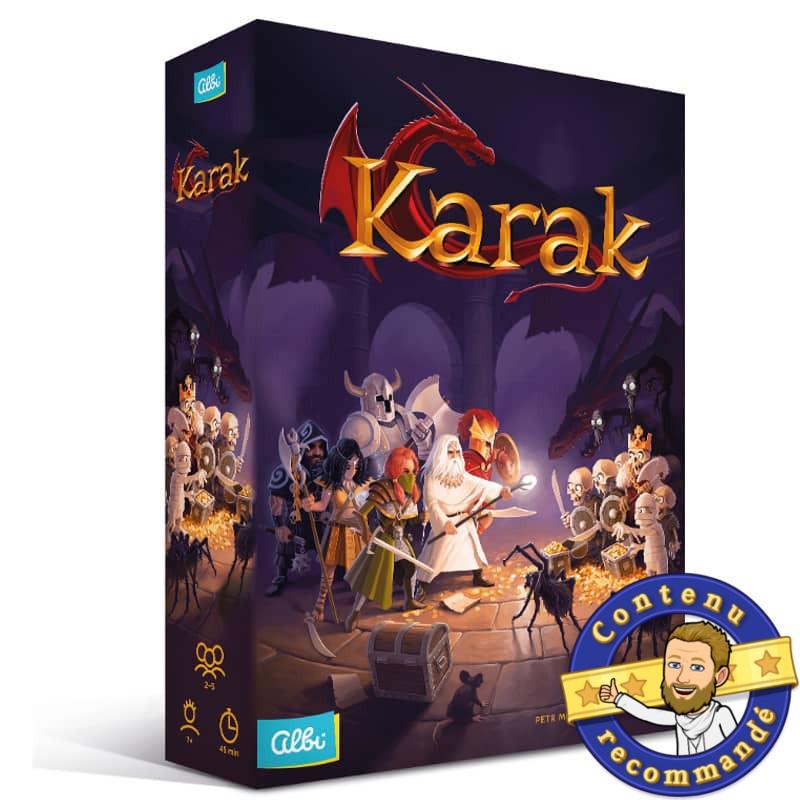 Karak mon premier donjon boite contenu recommandé