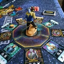 L'ascension de Thanos plateau figurine