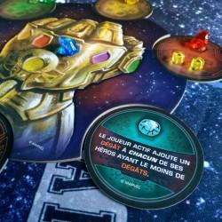 L'ascension de Thanos gant et compétence