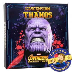 L'ascension de Thanos jeu de société boite