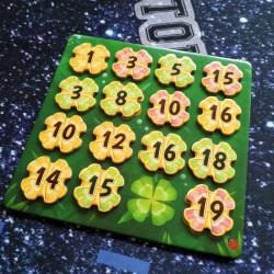 Lucky Numbers jeu de société plateau et jetons