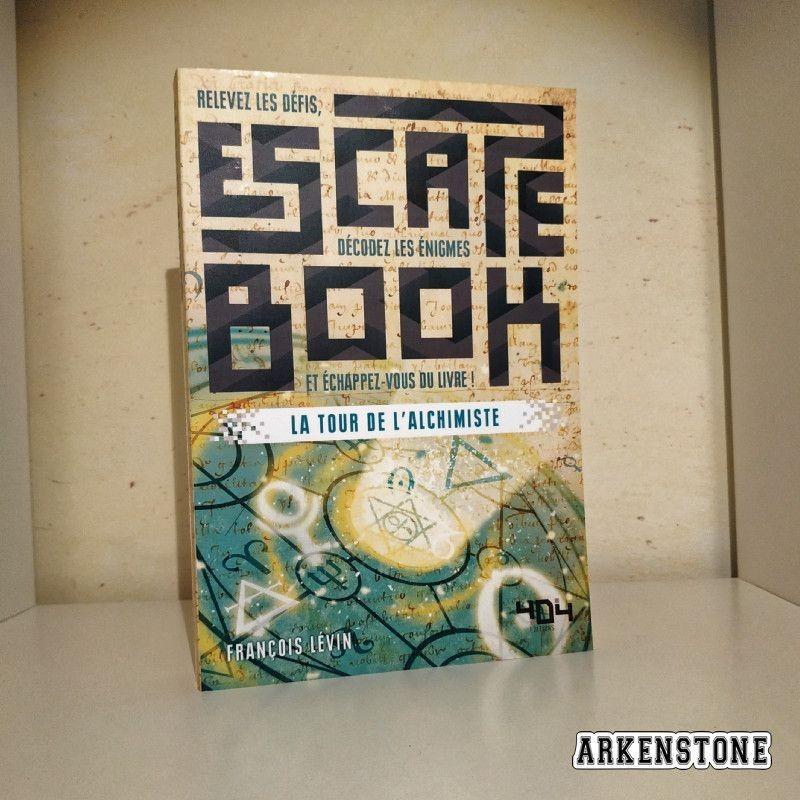 Arkenstone Escape book La tour de l'alchimiste