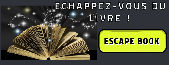 Découvrez toute la collection des Escape Book !