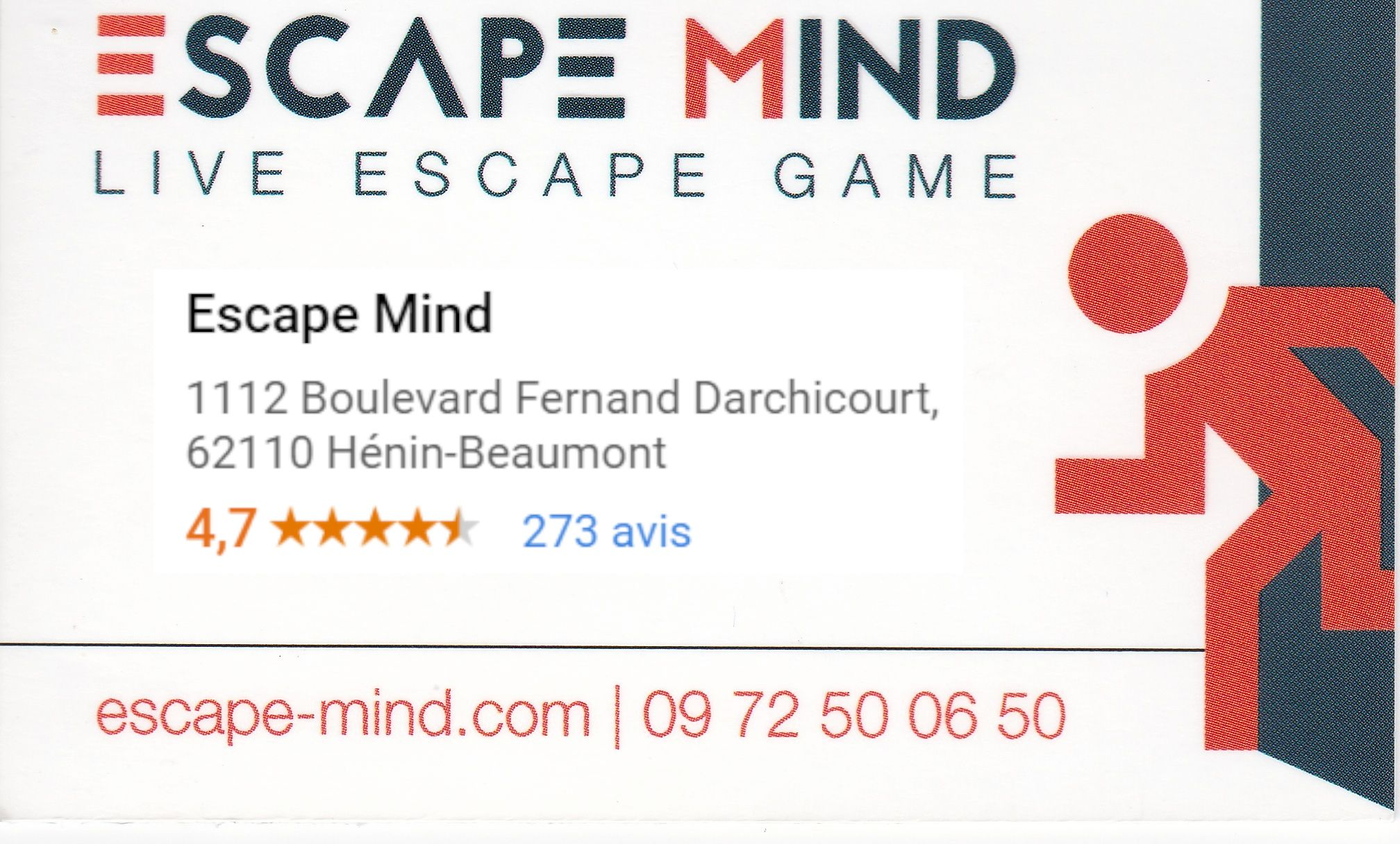 Escape Mind à Hénin-Beaumont.